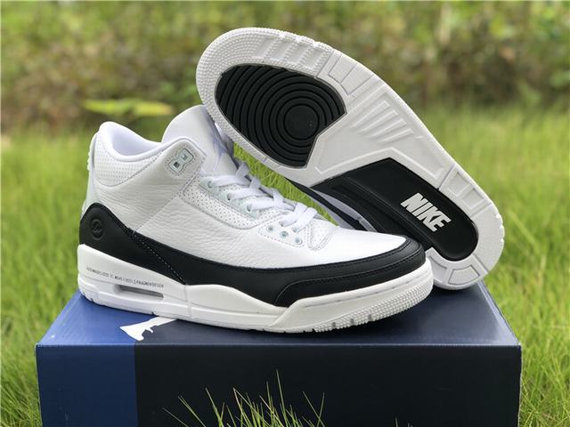 Authentic Fragment x Air Jordan 3 SP