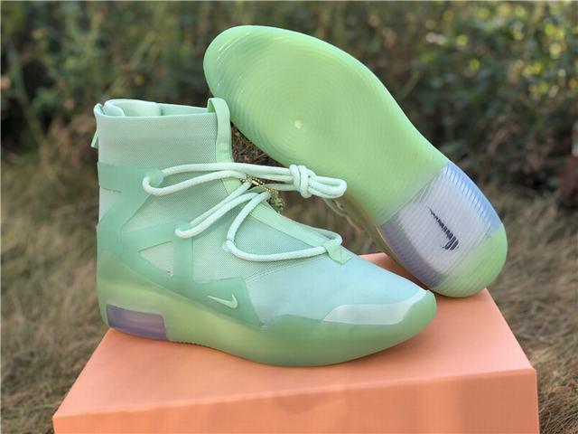 Authentic Nike Air Fear of God 1 FOG Green