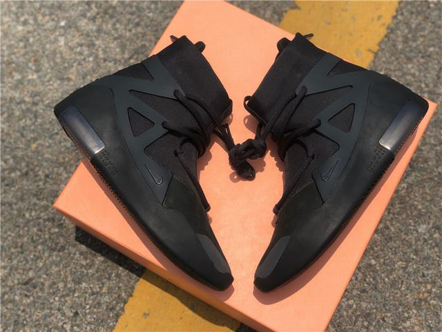 Authentic Nike Air Fear of God 1 Triple Black