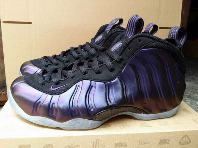 "Authentic Nike Air Foamposite One ""Eggplant"""
