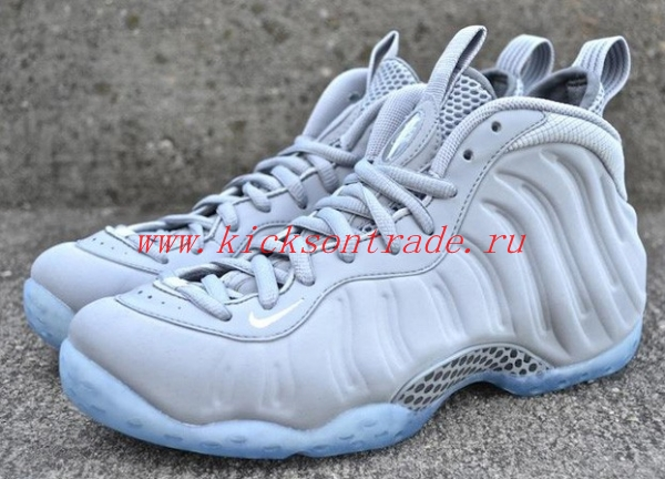 "Authentic Nike Air Foamposite One ""Grey Suede"""