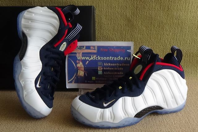 "Authentic Nike Air Foamposite One ""Olympic"""
