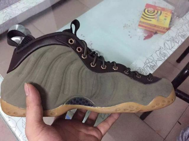 "Authentic Nike Air Foamposite One PRM ""Olive"""