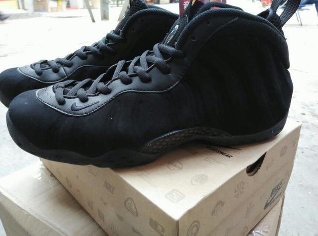 new arrival a81a5 cf708 Authentic Nike Air Foamposite One Triple Black
