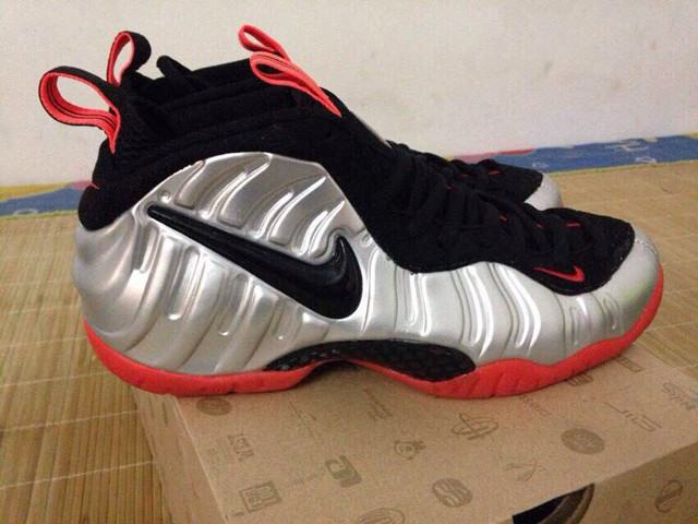 d78055a0bc8 Authentic Nike Air Foamposite Pro Bright Crimson on sale