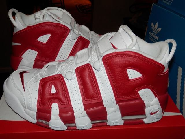 Authentic Nike Air More Uptempo Gym Red