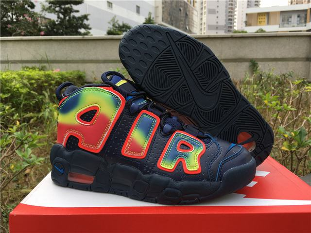 Authentic Nike Air More Uptempo QS GS Heat Map