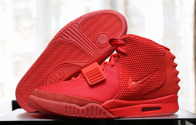 purchase cheap 1b802 145e0 Authentic Nike Air Yeezy 2 Red October