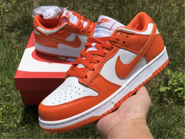 "Authentic Nike Dunk Low ""Syracuse"""