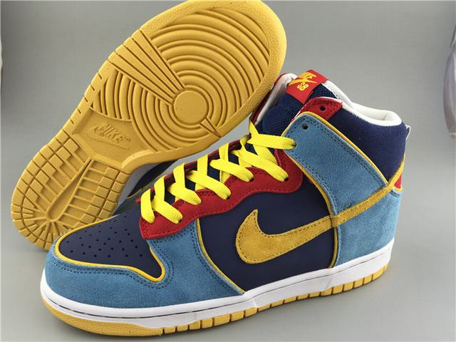 Authentic Nike Dunk High Pro SB MR Pacman