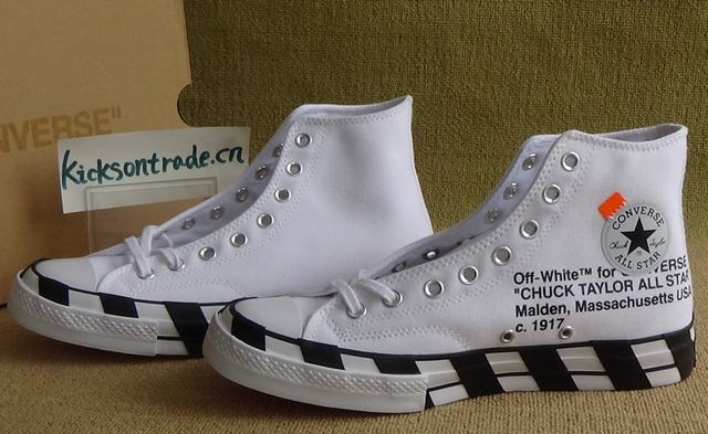 Authentic OFF-WHITE x Converse 2.0 White