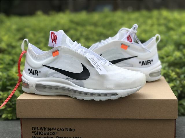 Authentic OFF-WHITE x Nike Air Max 97