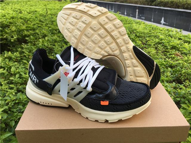 Authentic OFF-WHITE x Nike Air Presto Men