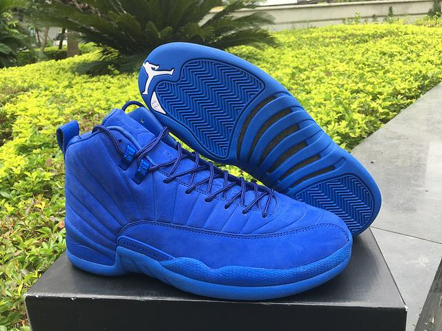 Authentic PSNY x Air Jordan 12 Blue