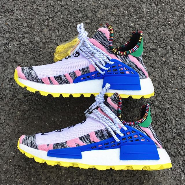 "Authentic Pharrell x AD NMD Hu ""Solar Pack"""