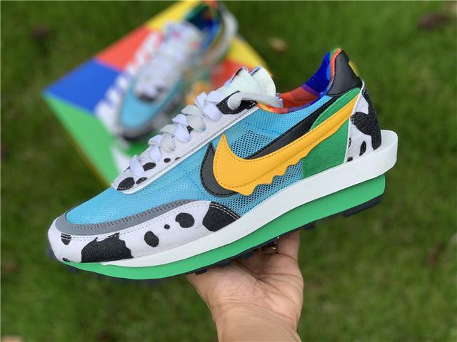 Authentic Sacai x Nike LdWaffle