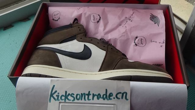 Authentic Travis Scott x Air Jordan 1 High OG TS SP