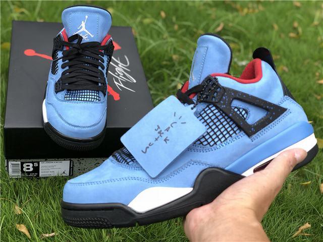 """Authentic Travis Scott x Air Jordan 4 """"Cactus Jack"""""""
