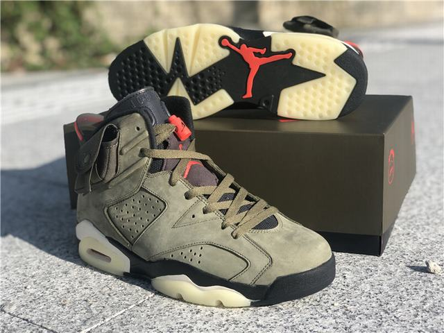 Authentic Travis Scott x Air Jordan 6