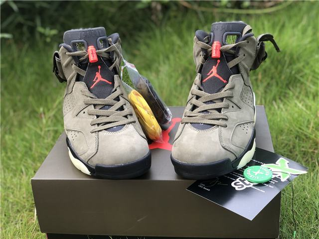 Authentic Travis Scott x Air Jordan 6