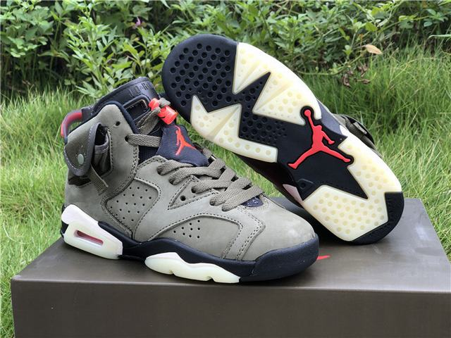 Authentic Travis Scott x Air Jordan 6 GS