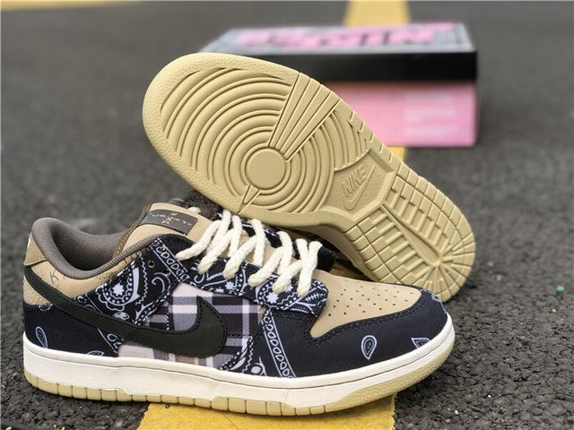 Authentic Travis Scott x Dunk SB Low