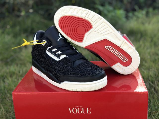 "Authentic Vogue x Air Jordan 3 ""AWOK"" Black"