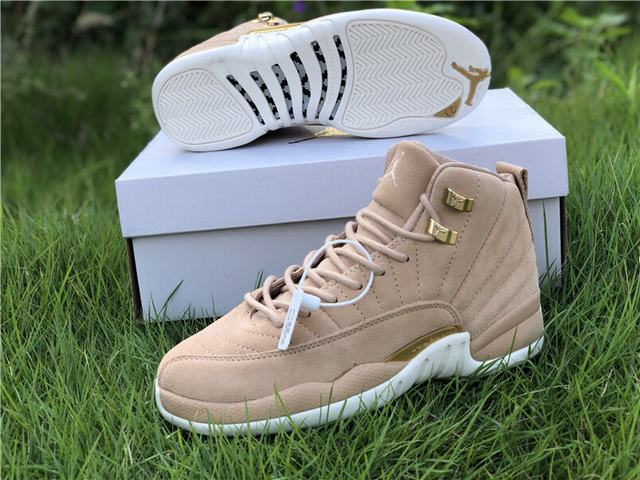 "Authentic WMNS Air Jordan 12 ""Vachetta Tan"""