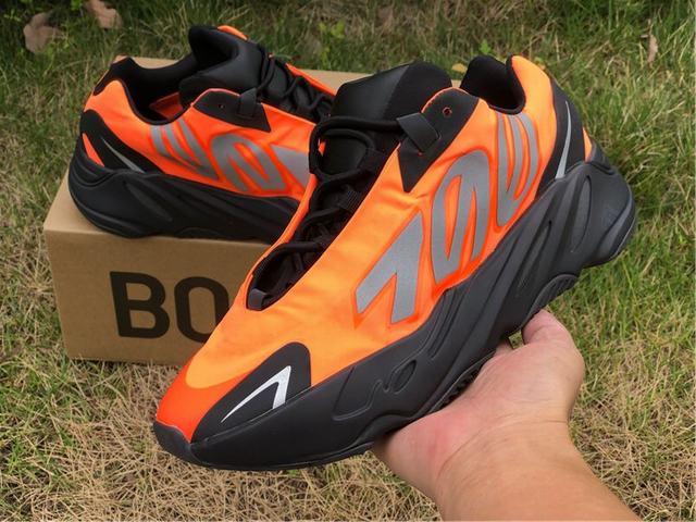 Authentic Yeezy Boost 700 WNVN Orange