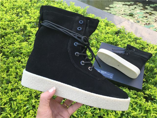 Authentic Yeezy Season 2 Boots Black