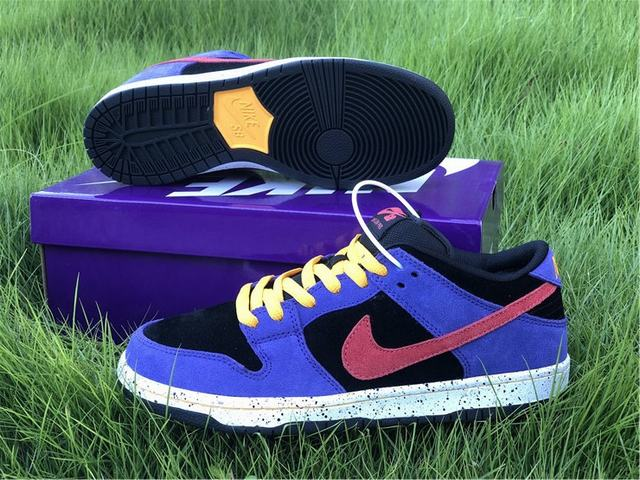 Nike Dunk Low Black Purple