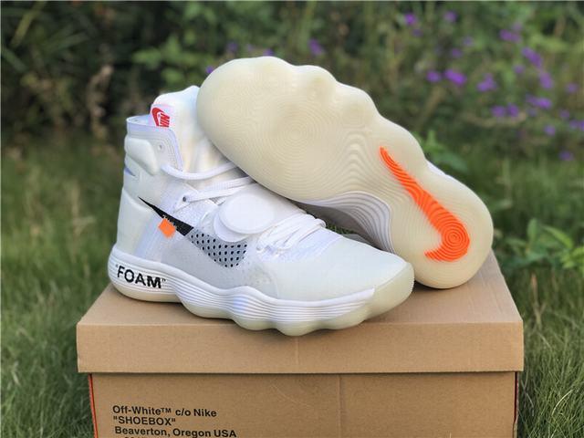 OFF-WHITE x Nike Hyperdunk White 2018