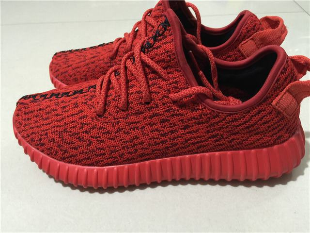 "Authentic Adidas Yeezy 350 Boost Low ""Red"""