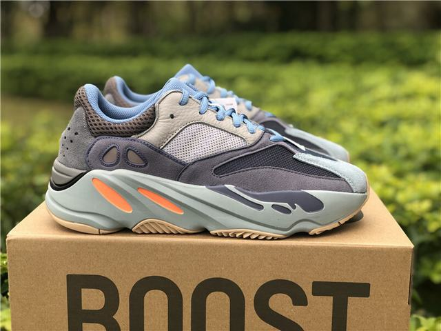 Authentic Adidas Yeezy 700 Carbon Blue