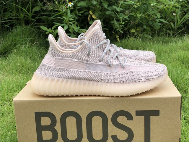 "Authentic Adidas Yeezy Boost 350 V2 ""Synth"" Pink"