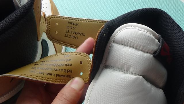 "Authentic Air Jordan 1 ""Rookie of the Year"""
