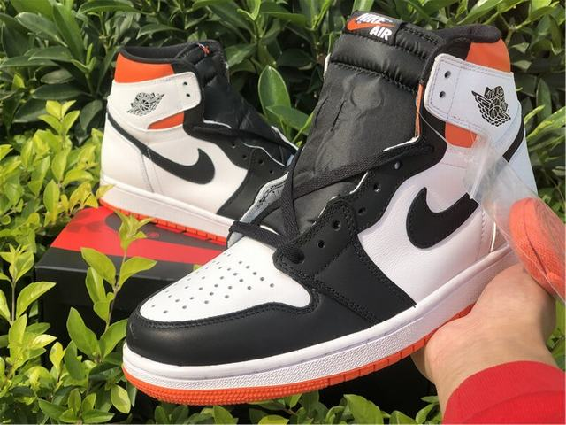 "Authentic Air Jordan 1 High OG ""Electro Orange"""