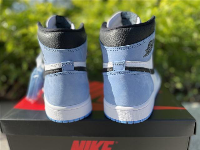 "Authentic Air Jordan 1 High OG ""University Blue"""