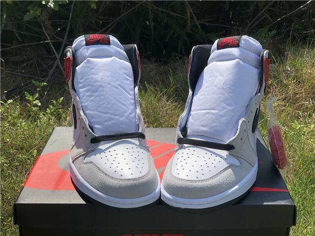 "Authentic Air Jordan 1 High OG""Particle Grey"""