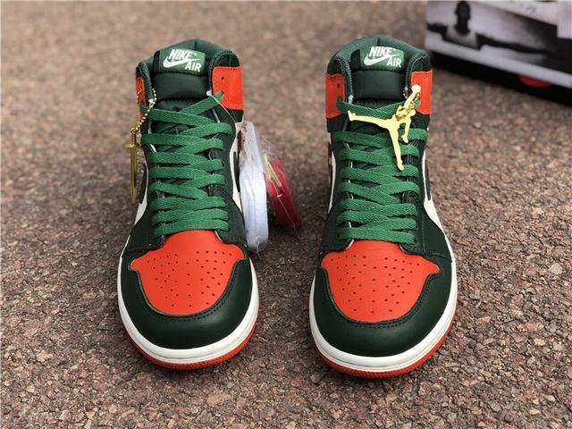 Authentic Air Jordan 1 Retro High OG Solyfly