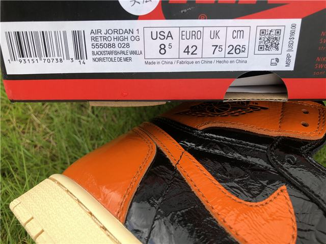 Authentic Air Jordan 1 Shattered backboard 3.0