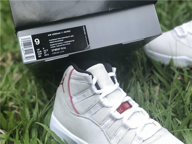 """Authentic Air Jordan 11 """"Platinum Tint"""""""