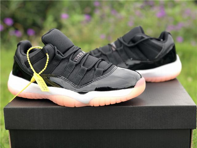 "Authentic Air Jordan 11 Low ""Bleached Coral"" GS"