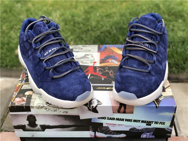 """Authentic Air Jordan 11 Low """"RE2PECT"""""""