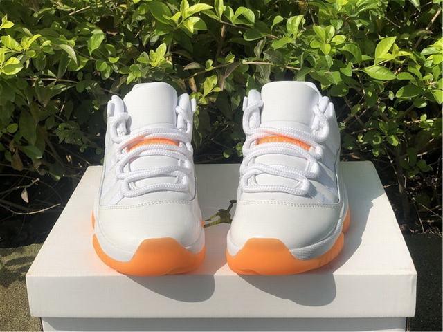 Authentic Air Jordan 11 Low Bright Citrus WMNS