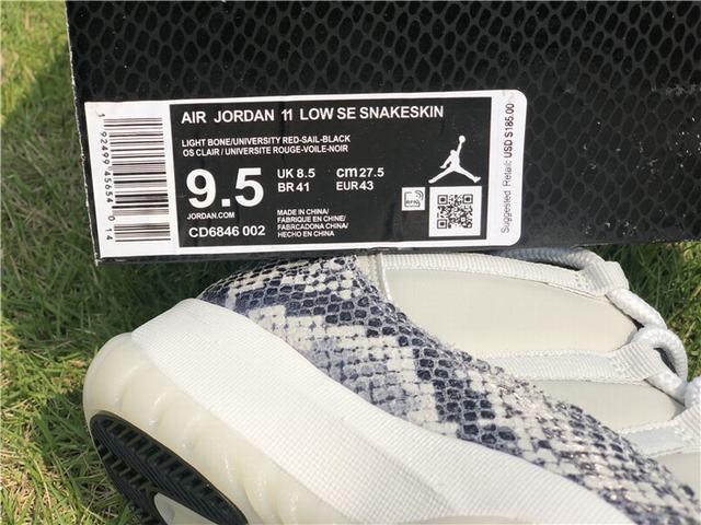 "Authentic Air Jordan 11 Low SE ""Snakeskin"""