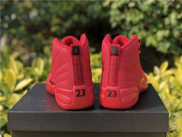 "Authentic Air Jordan 12 ""Bulls"" GS"