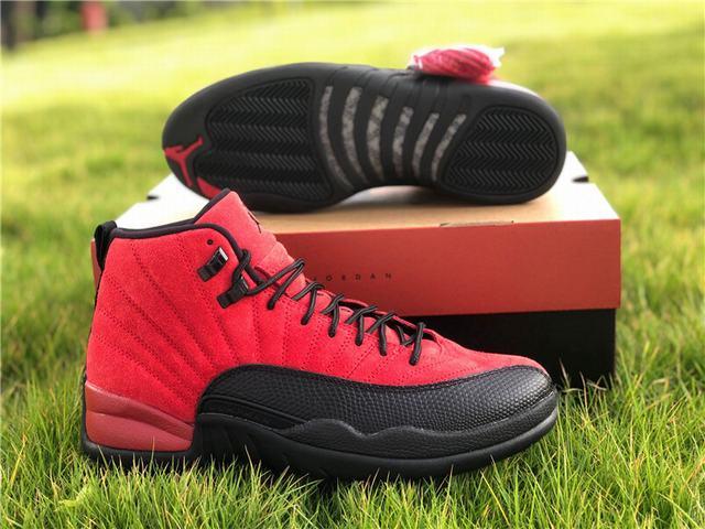 """Authentic Air Jordan 12 """"Reverse Flu Game"""""""