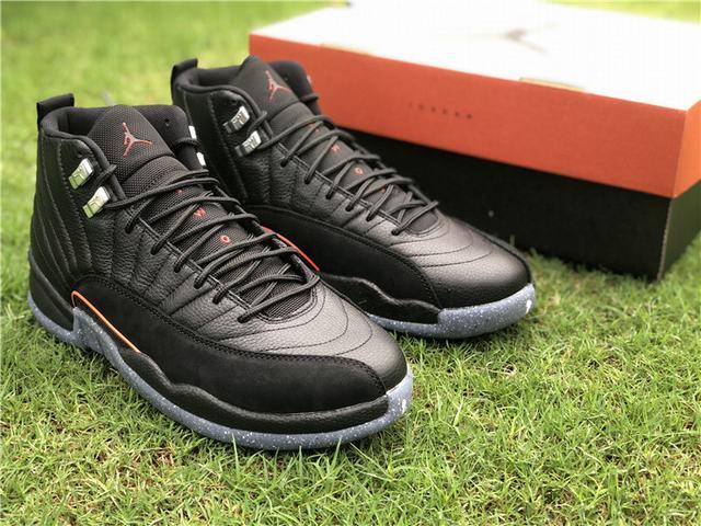 Authentic Air Jordan 12 Black