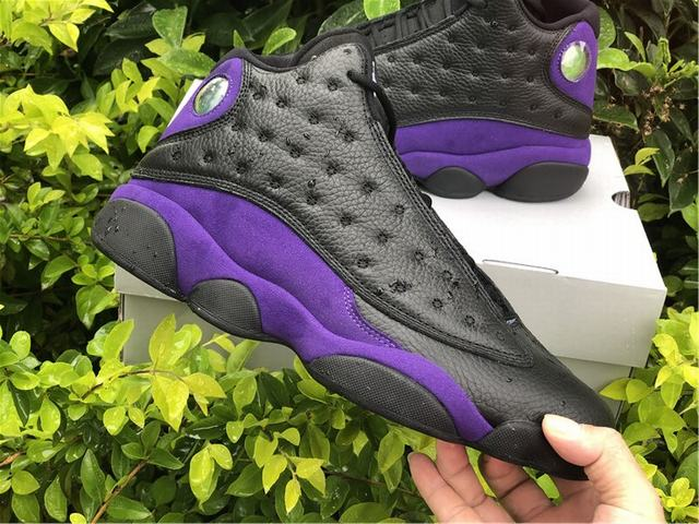 Authentic Air Jordan 13 Court Purple